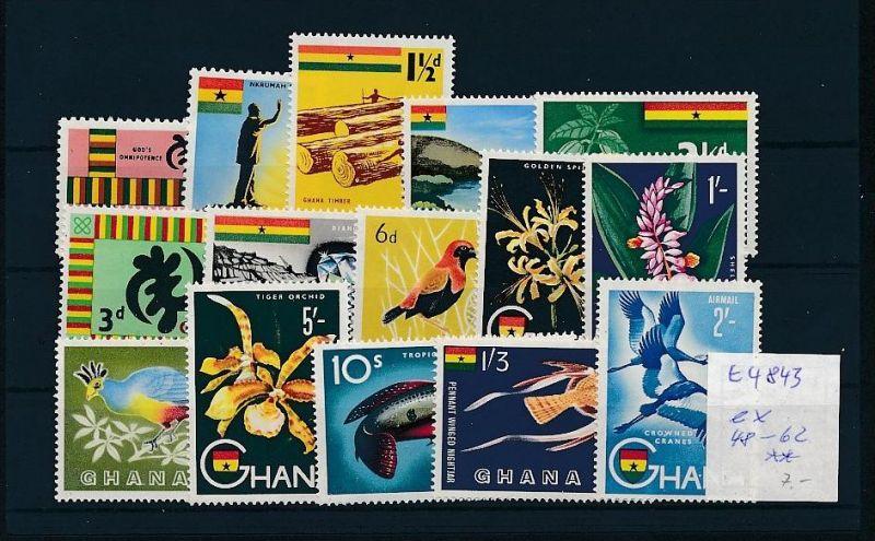 Ghana   - Lot ....   (t4843 ) siehe Bild !