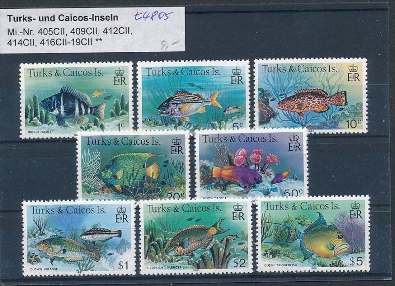 Turks Fische  - Lot ....   (t4805 ) siehe Bild ! 0