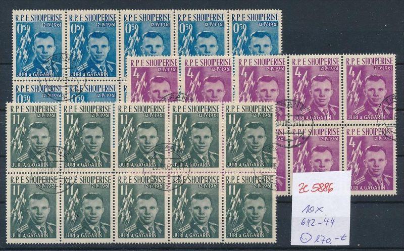 Albanien  encros  10x 642-44  o (ze5886 ) siehe Bild !