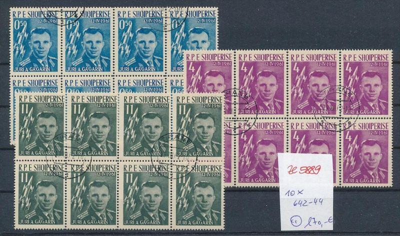 Albanien  encros  8 x 642-44  o (ze5889 ) siehe Bild ! 0