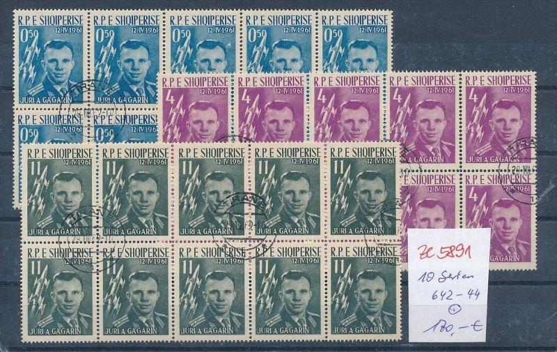 Albanien  encros  10 x 642-44  o (ze5891 ) siehe Bild !
