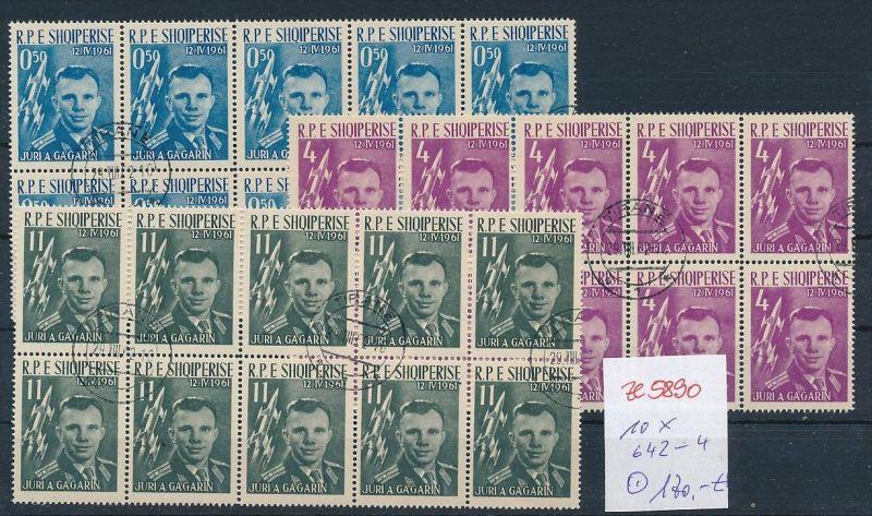 Albanien  encros  10 x 642-44  o (ze5890 ) siehe Bild !