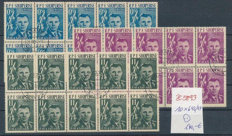 Albanien  encros  10 x 642-44  o (ze5893 ) siehe Bild !