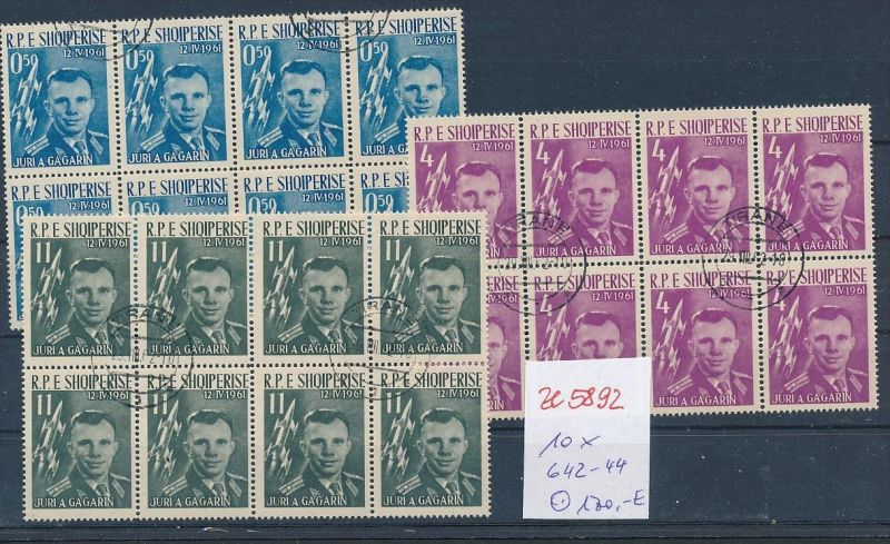 Albanien  encros  8 x 642-44  o (ze5892 ) siehe Bild !
