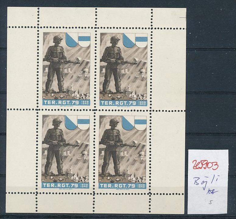 CH-Militär/Soldaten Marken -Bögli   (ze5903 ) siehe Bild ! 0