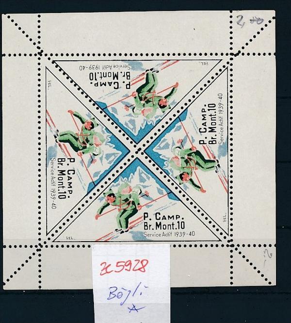 CH-Militär/Soldaten Marken -Bögli   (ze5928  ) siehe Bild !