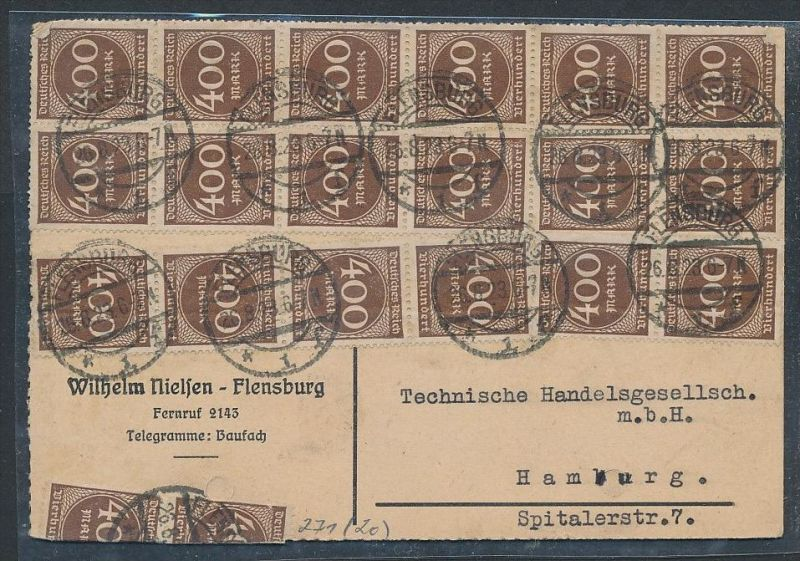 Infla  Beleg   (t5000 ) siehe Bild ! 0