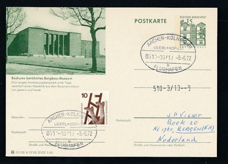 BRD- Bahnpost Stempel-Beleg  (t4976  ) siehe Bild ! 0