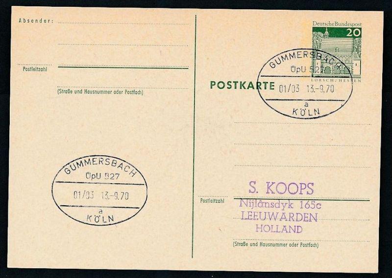 BRD- Bahnpost Stempel-Beleg  (t4973  ) siehe Bild ! 0
