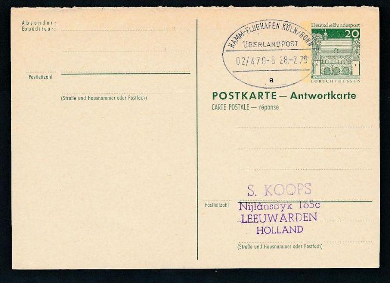 BRD- Bahnpost Stempel-Beleg  (t4963  ) siehe Bild ! 0