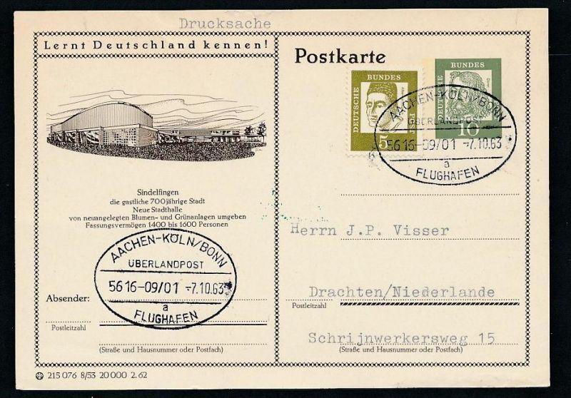 BRD- Bahnpost Stempel-Beleg  (t4991  ) siehe Bild ! 0