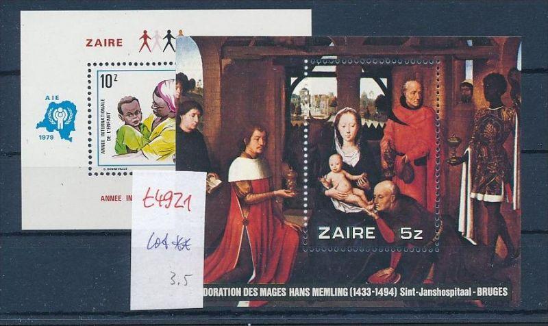 Zaire  **  Lot   (t4921  ) siehe Bild !