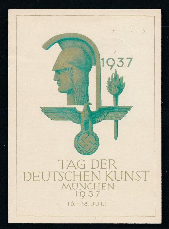 D.-Reich - Prpaganda -D.Kunst  -Karte ( t4900 ) siehe scan