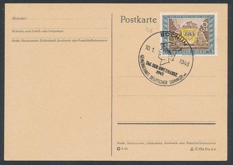 D.-Reich - 828 FDC /Stempel !! -Karte ( t4882 ) siehe scan