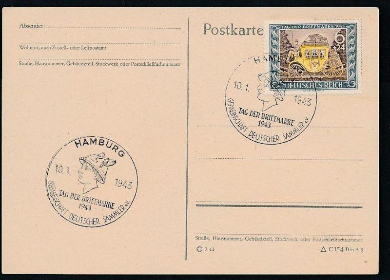 D.-Reich - 828 FDC /Stempel !! -Karte ( t4881 ) siehe scan