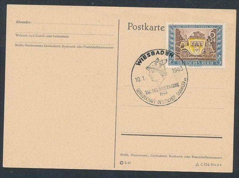 D.-Reich - 828 FDC /Stempel !! -Karte ( t4877 ) siehe scan 0