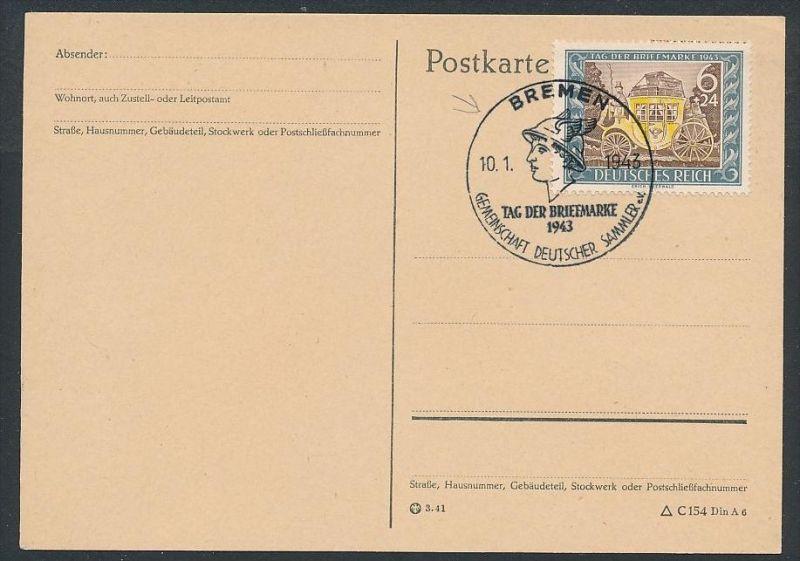 D.-Reich - 828 FDC /Stempel !! -Karte ( t4883 ) siehe scan