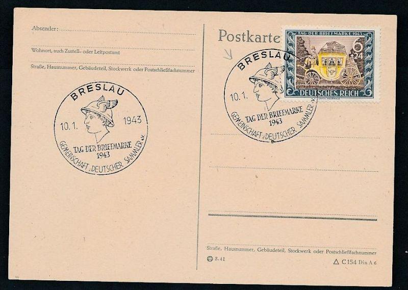 D.-Reich - 828 FDC /Stempel !! -Karte ( t4885 ) siehe scan