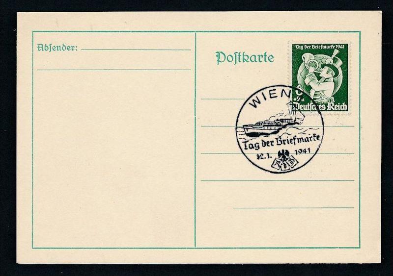 D.-Reich - Stempel !! -Karte ( t4892 ) siehe scan