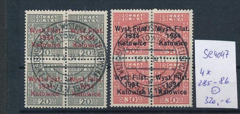Polen Nr. 4x 285-86  o ( se4047 ) siehe scan 0