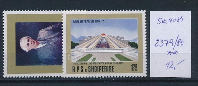 Albanien Nr. 2379-80   ** ( se4081 ) siehe scan 0