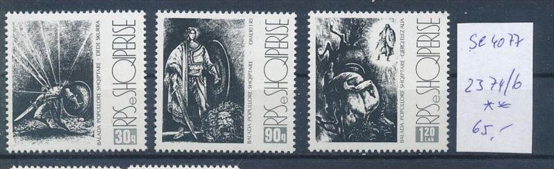 Albanien Nr. 2374-76   ** ( se4077 ) siehe scan 0