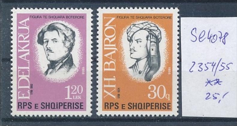 Albanien Nr. 2354-55   ** ( se4078 ) siehe scan 0