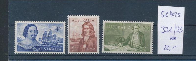 Australien Nr. 331-33   ** ( se4025 ) siehe scan 0
