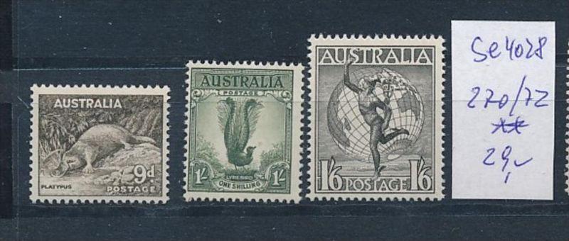 Australien Nr. 270-72   **( se4028 ) siehe scan 0
