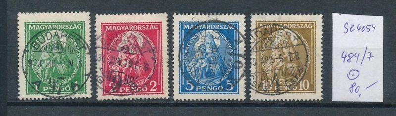 Ungarn  Nr. 484-7  o  ( t4054 ) siehe scan 0