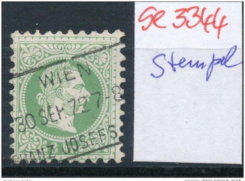 Österreich-Klassik -Stempel Schönheit   ( se3344 ) siehe scan 0
