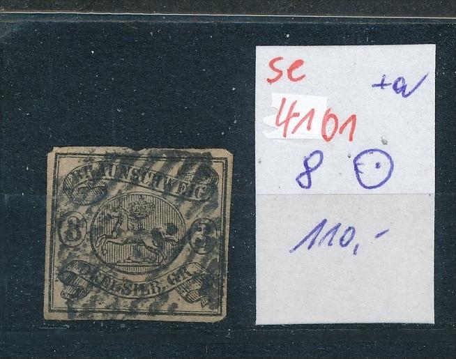 Braunschweig  Nr. 8   o ( se4101 ) siehe scan 0