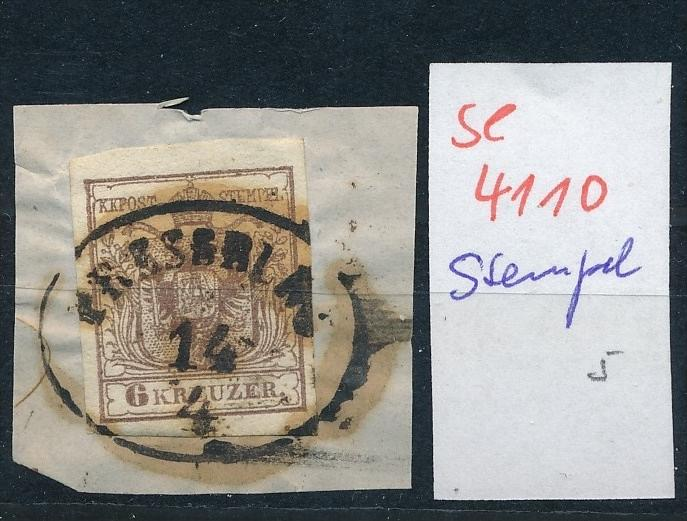 Österreich -Klassik -netter Stempel  ( se4110 ) siehe scan