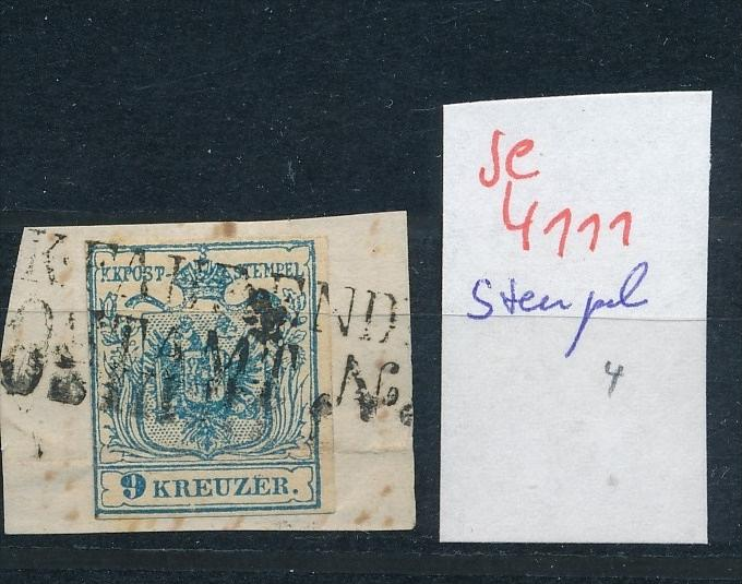 Österreich -Klassik -netter Stempel  ( se4111 ) siehe scan