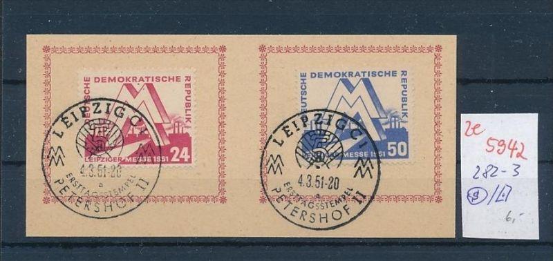 DDR  Nr. 282-3  o ( ze5942 ) siehe scan 0