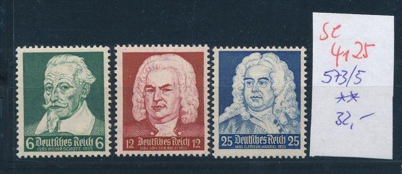 D.-Reich  573-5   ** ( se4125 ) siehe scan 0
