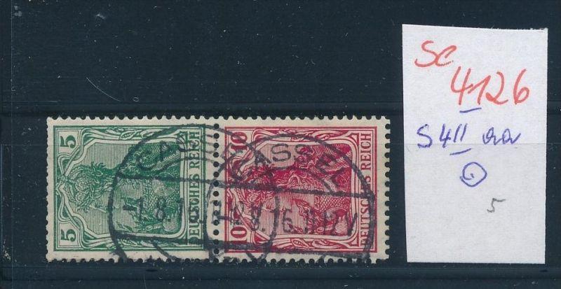D.-Reich  s 4 II aa ( se4126 ) siehe scan 0