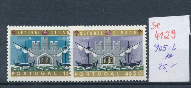 Portugal   905-6  ** ( se4129 ) siehe scan 0