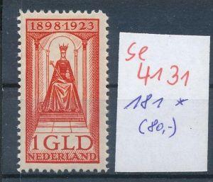 NL. Nr. 181   * ( se4131 ) siehe scan