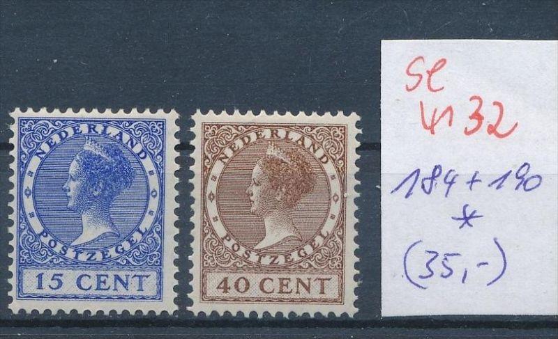 NL. Nr. 184+85   * ( se4132 ) siehe scan 0