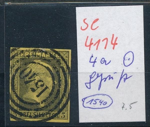 Preussen Nr. 4a  o  ( se4114 ) siehe scan 0