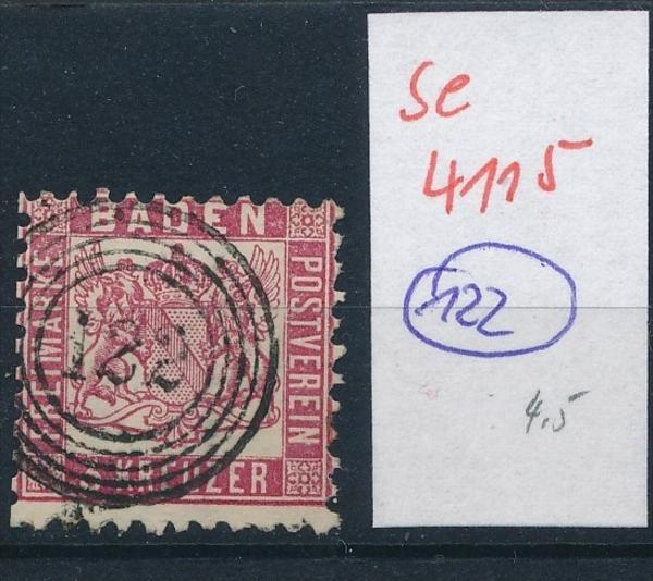 Baden -Stempel   ( se4115 ) siehe scan 0