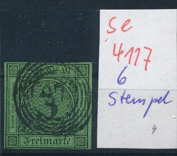 Baden   6  -Stempel   ( se4117 ) siehe scan 0