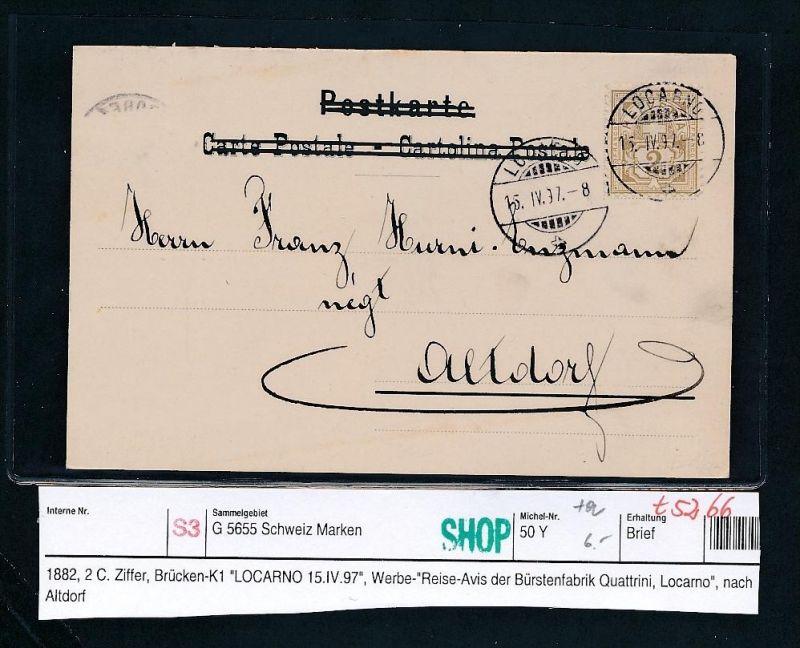 Schweiz uralter  Beleg  ( t5266  ) siehe scan