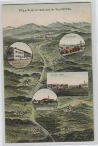 Tölz -alte Karte.....  ( k9822  ) siehe scan