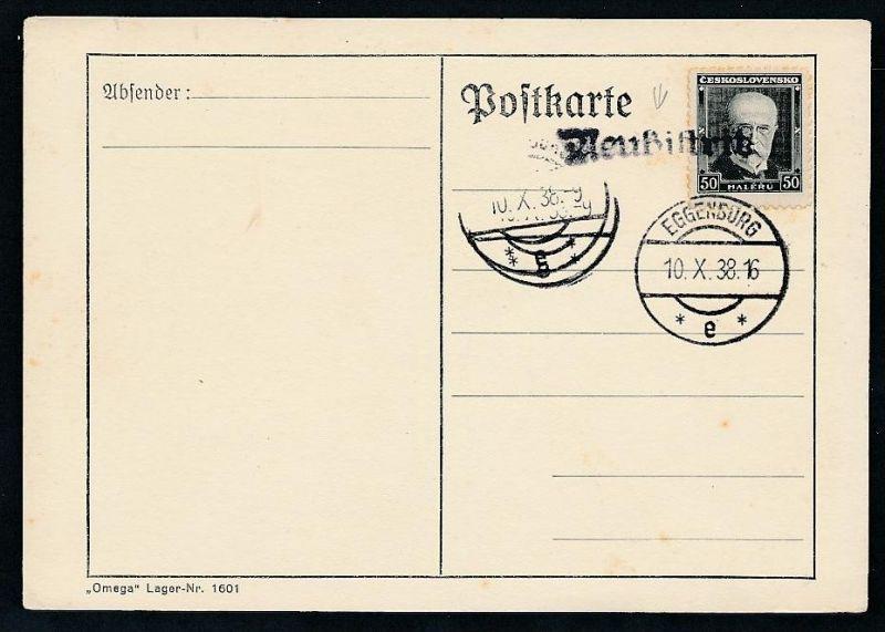 Tschechen netter Stempel Beleg   (t5125 ) siehe Bild !