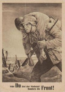 D.-Reich  -Propaganda - Karte -   Stempel-Beleg (ka89    ) siehe Bild !