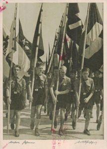D.-Reich  -Propaganda - Karte -   Stempel-Beleg (ka 519    ) siehe Bild !