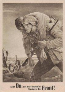 D.-Reich  -Propaganda - Karte -   Stempel-Beleg (ka 559    ) siehe Bild !