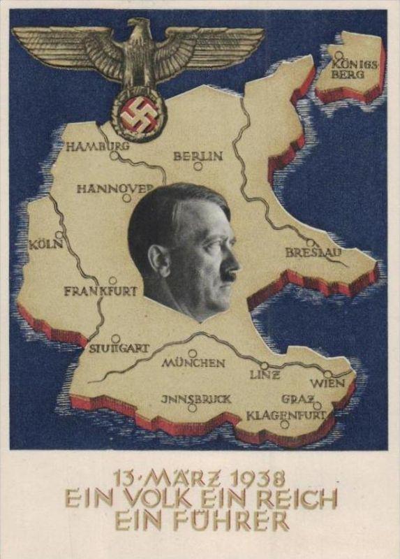 D.-Reich  -Propaganda - Karte -   Stempel-Beleg (ka 551    ) siehe Bild !